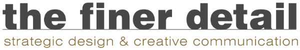 The Finer Detail Retina Logo